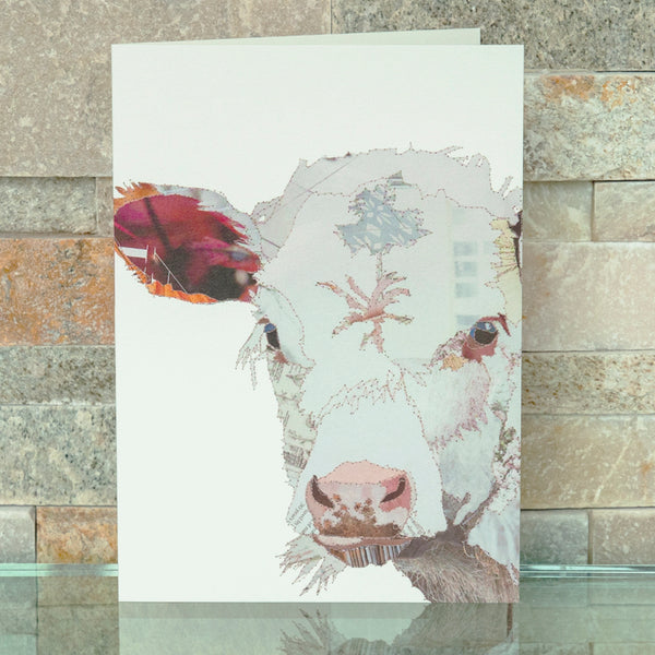 CKMB03B 'Baby Calf' Greetings Card (packed in 6's)