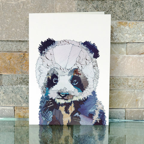 CKMB09 'Baby Panda' Greetings Card (packed in 6's)