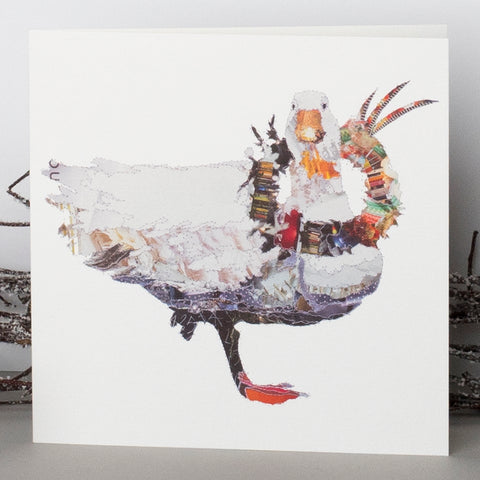 CKX0014 'Goose' Greetings Card (packed in 6's)