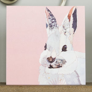 CKX0017 'White Rabbit' Greetings Card (packed in 6's)