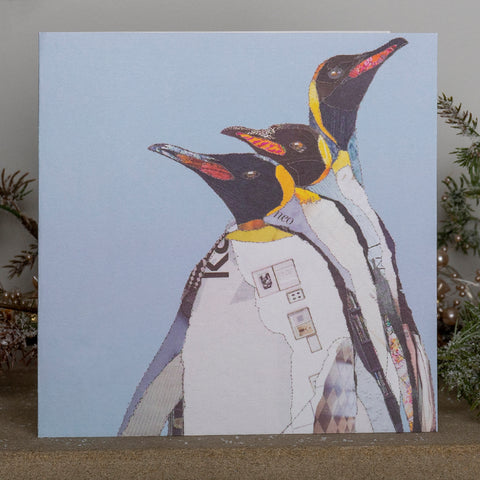 CKX0018 'White Penguins' Greetings Card (packed in 6's)