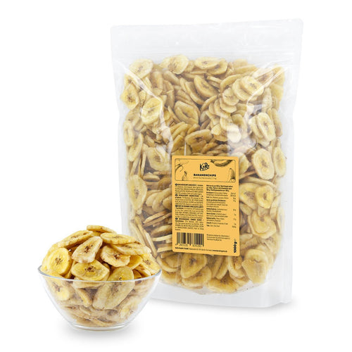Koro Drogerie Banana Chips no added sugar 1kg