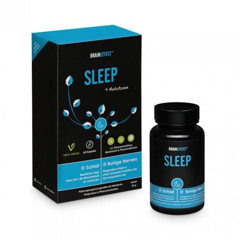 BrainEffect Sleep Melatonin Capsules