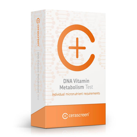 DNA Vitamin Metabolism Test - Genetic testing with cerascreen