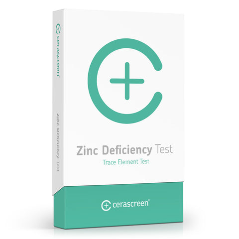 cerascreen Zink Deficiency Test: Analysis of mineral nutrients