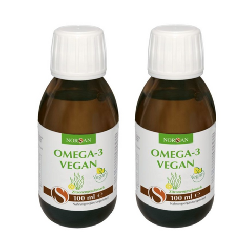 Norsan Omega-3 vegan oil (lemon) triple pack - 3x100 ml