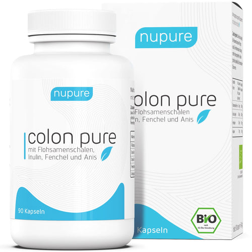 Nupure Colon Pure - 90 capsules