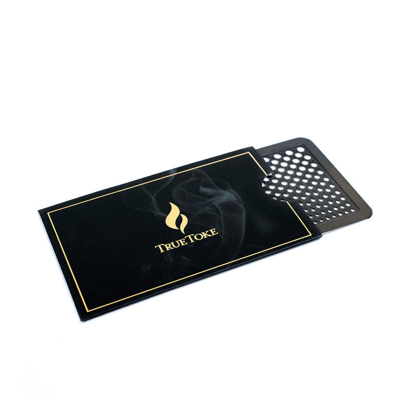 True Toke Gunmetal Grinder Card