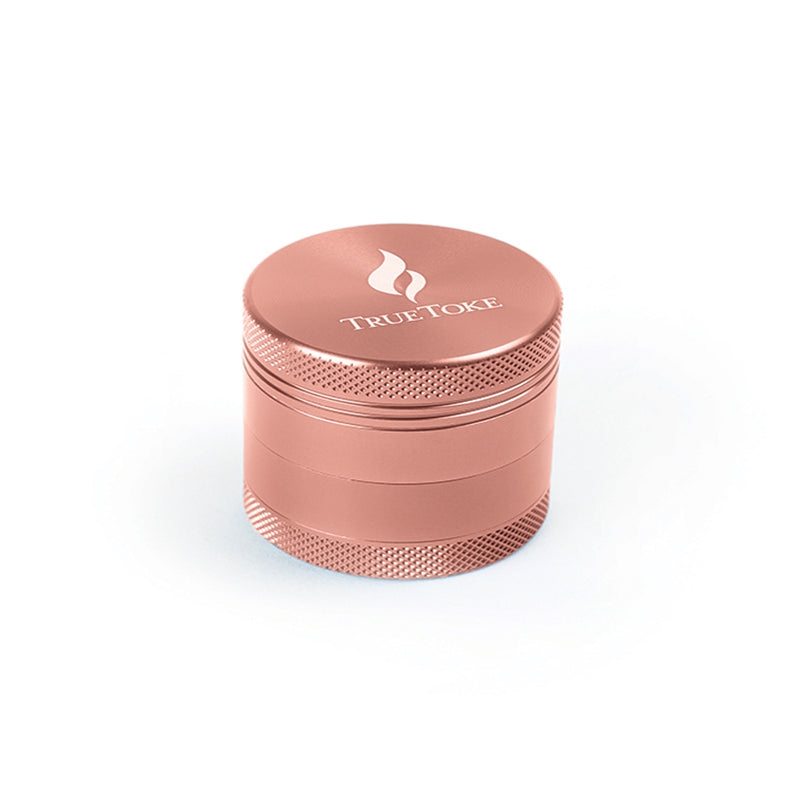 Medium 4-Piece True Toke Grinder in Rose Gold