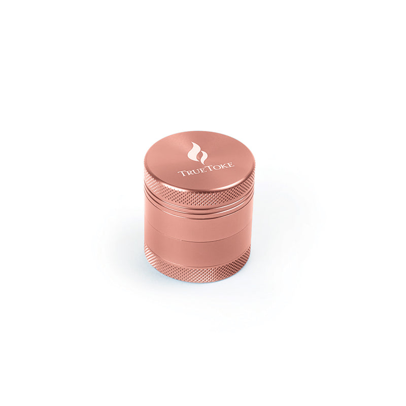 Mini 4-Piece TrueToke Grinder in Rose Gold