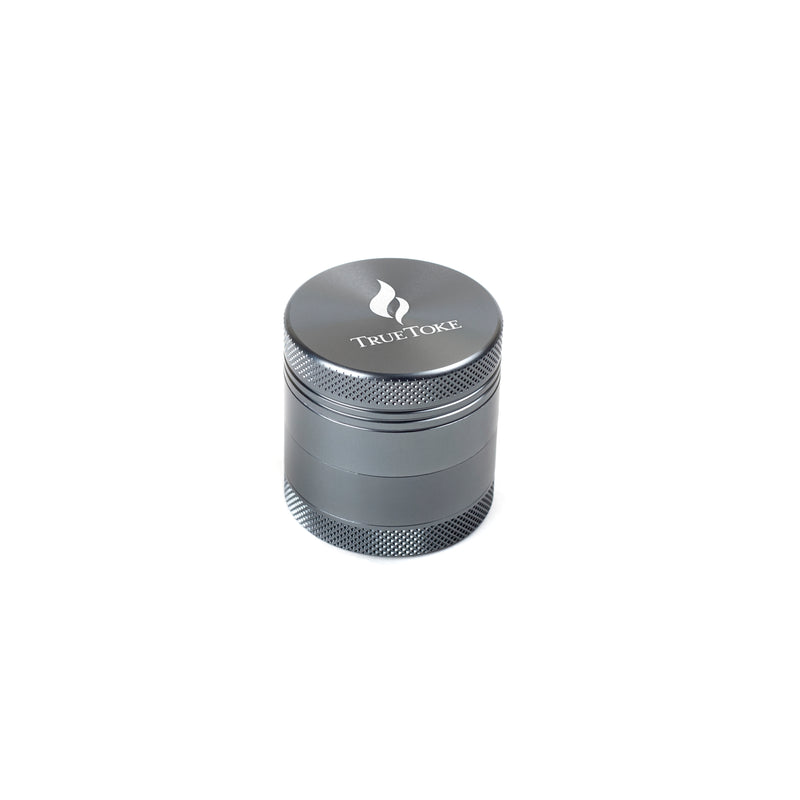 Mini 4-Piece TrueToke Grinder in Gun Metal