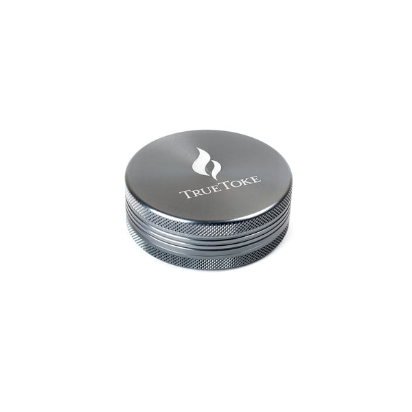 Large 2-Piece TrueToke Grinder in Gunmetal
