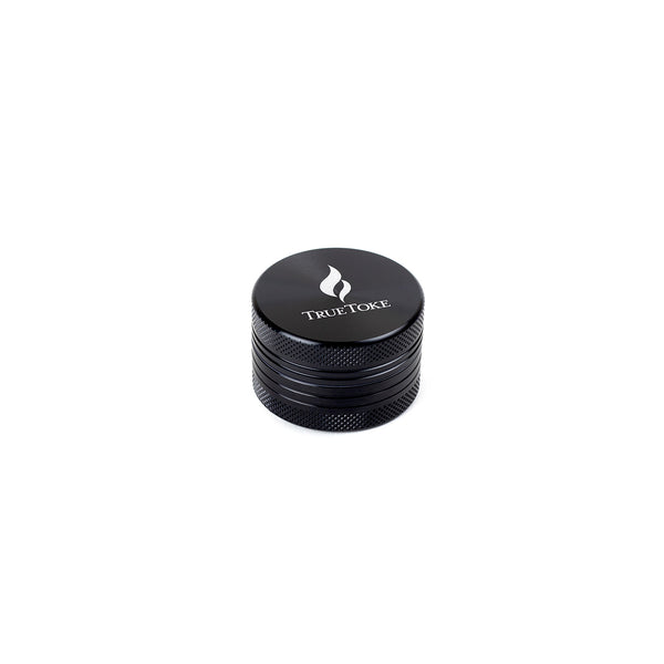 MINI 2-PIECE TRUETOKE GRINDER IN BLACK - TrueToke