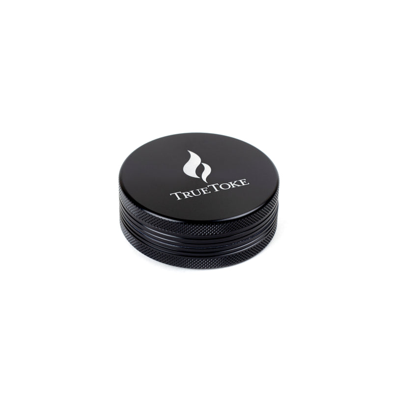 TrueToke Large Black 2-Piece Grinder