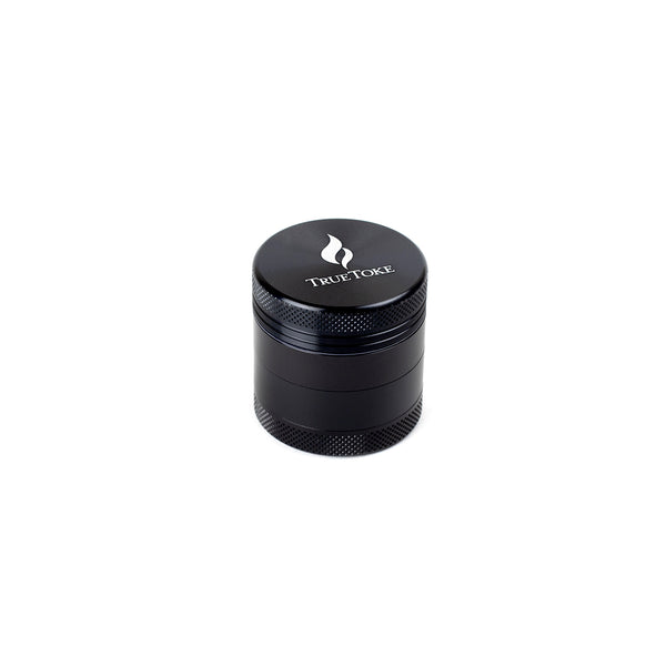 truetoke mini 4-piece herb grinder black