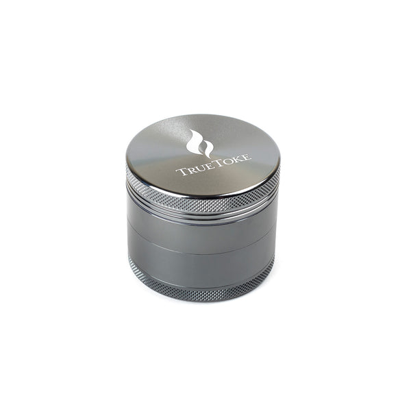 truetoke medium 4-piece herb grinder gunmetal