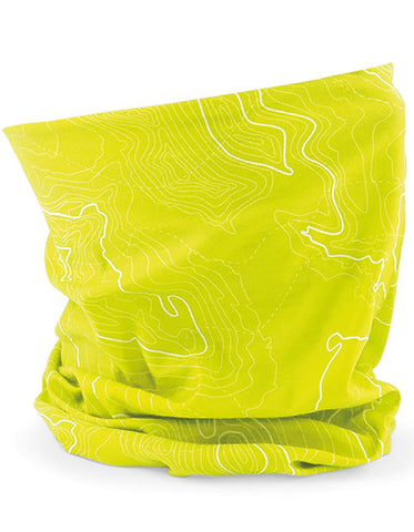 Gurglwarmer CLASSIC LOOK yellow map
