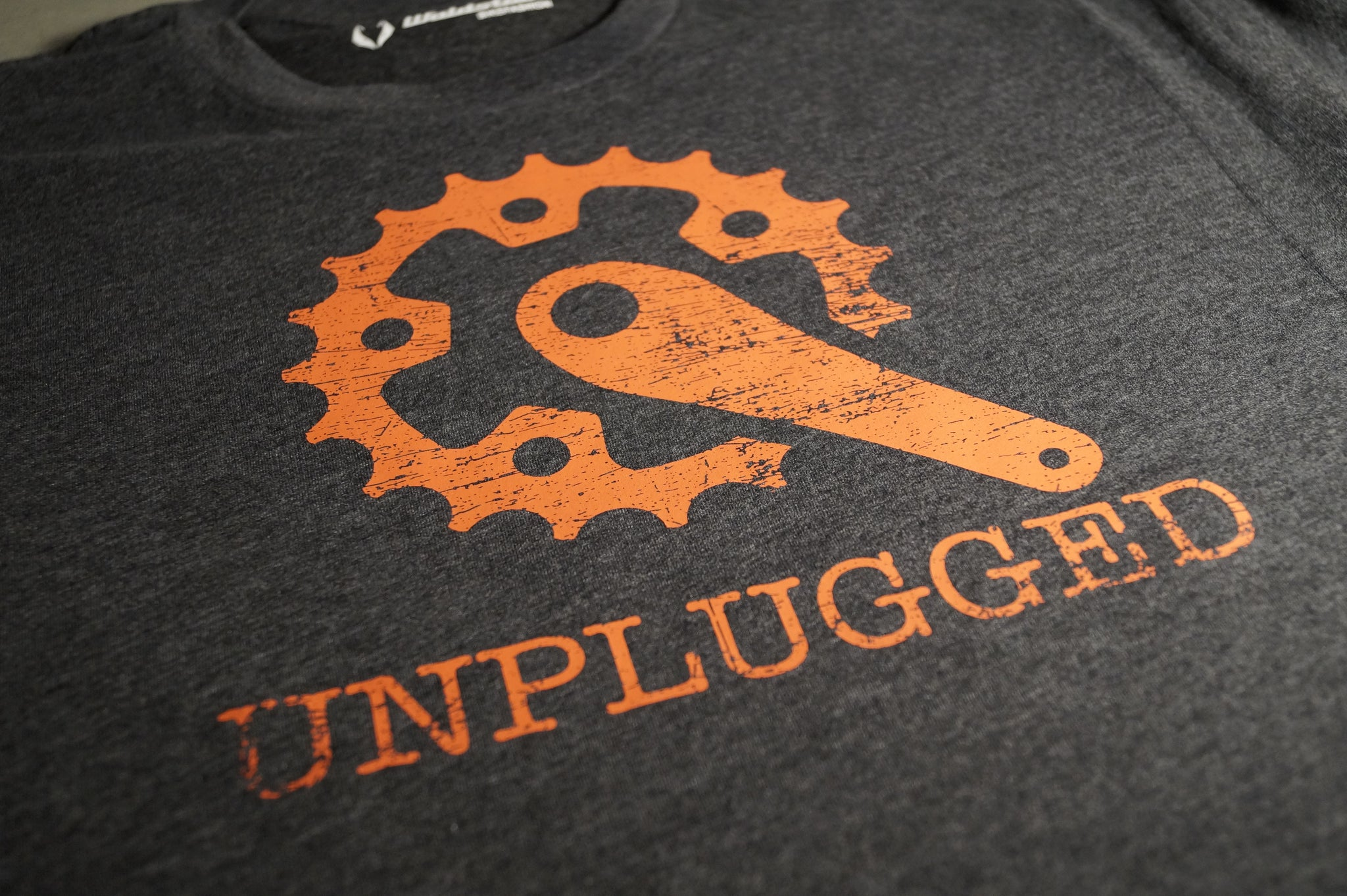 Unplugged T-Shirt heather metal PREMIUM