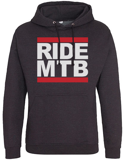 *NEW* Ride MTB Hoodie Charcoal