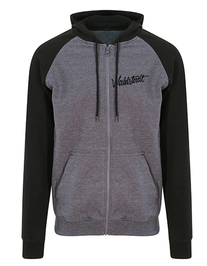 Zip-Hoodie Waldstadt Signature 2-tone grey/black