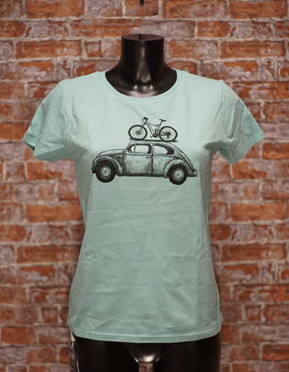 Bike Bug T-Shirt girls cool mint
