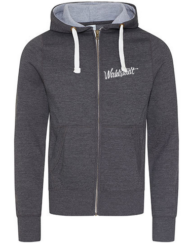 The chunky Zip Hoodie Waldstadt Signature grey