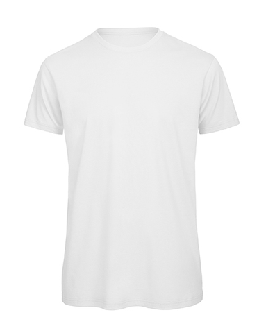 Men´s Basic T rundhals white, Bio & Fairtrade