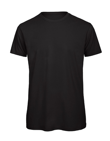 Men´s Basic T rundhals black, Bio & Fairtrade