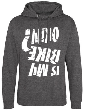 Is my bike okay Hoodie mid grey heather
