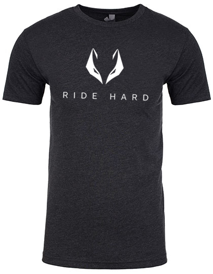 Ride hard heather black T-Shirt PREMIUM