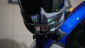 How to Mount a GoPro to Ruroc Atlas Motorcycle Helmet