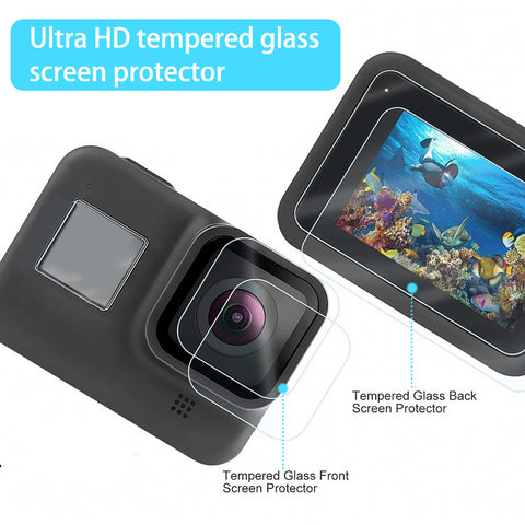 Glass Screen Protector for GoPro Hero 8
