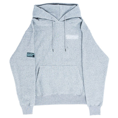 ISOMETRIC BLOCK LOGO ( LIMITED COLOR ) GREY HOODIE (REFLECTIVE)