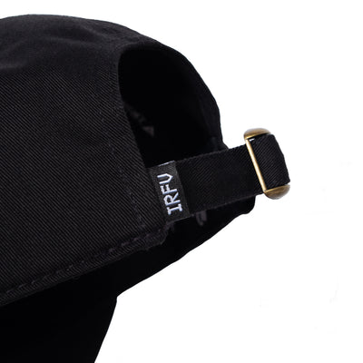 IRFV Hat - Black / White