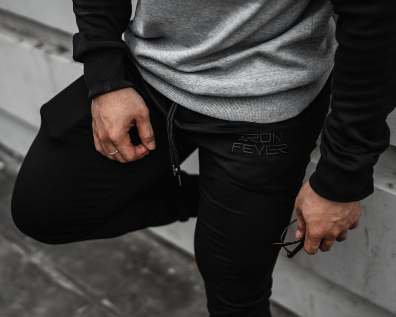 Regular Jogger V1 - Black