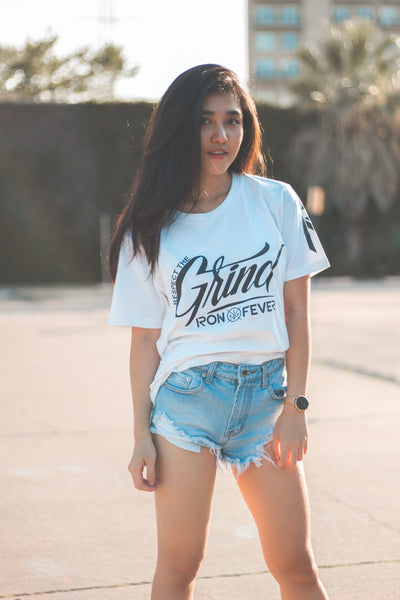Respect the Grind - White / Black