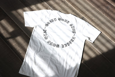 HUSTLE n GRIND - White / Black