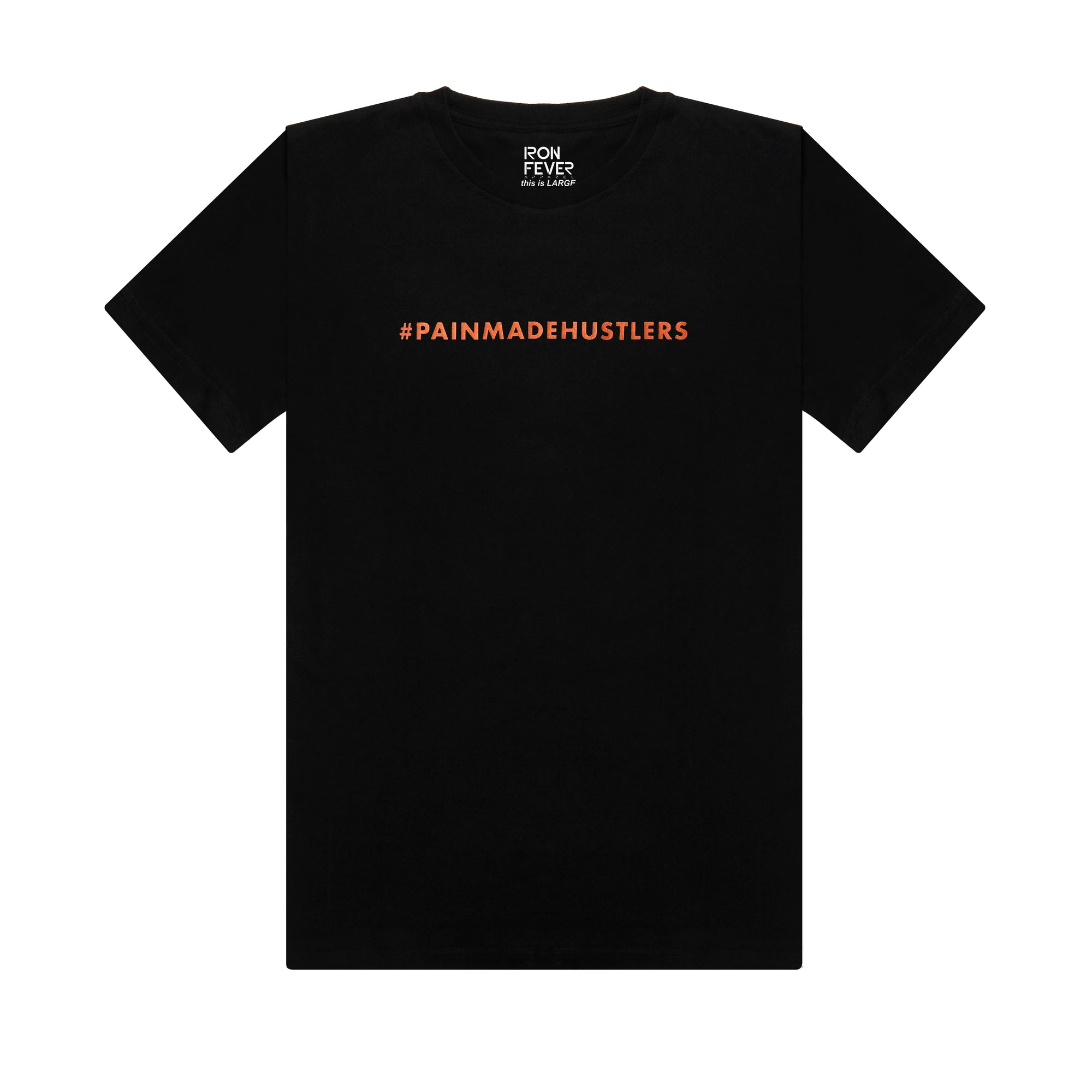 #PAINMADEHUSTLERS - Black/ Metallic Orange
