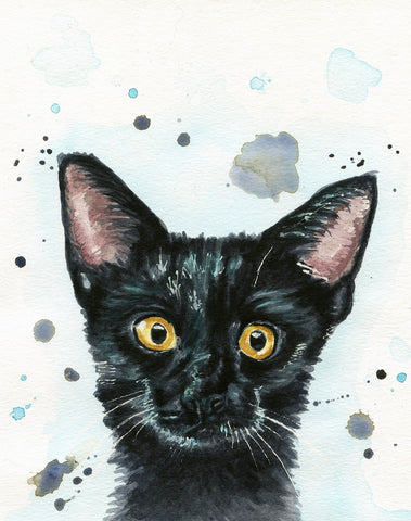 Watercolor Pet Portrait