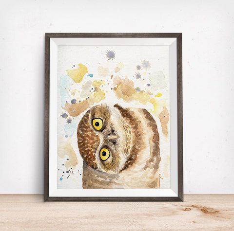 Owl Art - Owl Painting