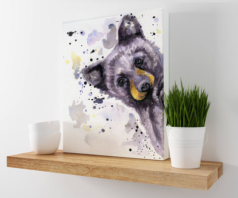 Bear Cub Art - Woodland Decor