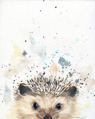 Hedgehog Gift - Hedgehog Art