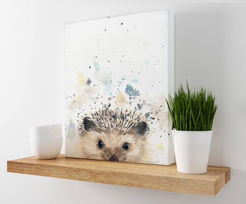 Hedgehog Art - Woodland Animal