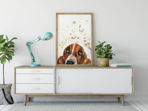 Dog Home Decor Artwork Print
