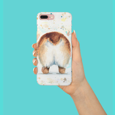 Corgi Phone Case - Corgi Butt iPhone Case