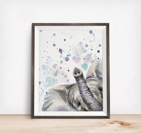 Elephant Art - Elephant Painting