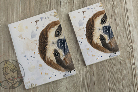 Sloth Stuff  - Adorable Journal