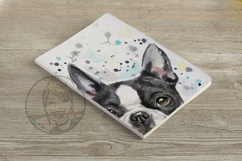 Boston Terrier  - Lined Journal