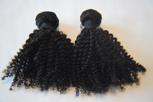 Open image in slideshow, Kinky Curly Mink Brazilian 2 BUNDLE DEAL