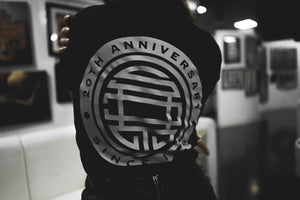 20TH YEAR SKIN DESIGN ANNIVERSARY -  BLACK Tee